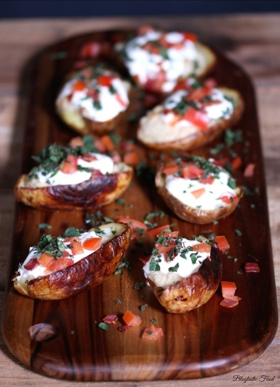 twice baked potatoes-complete