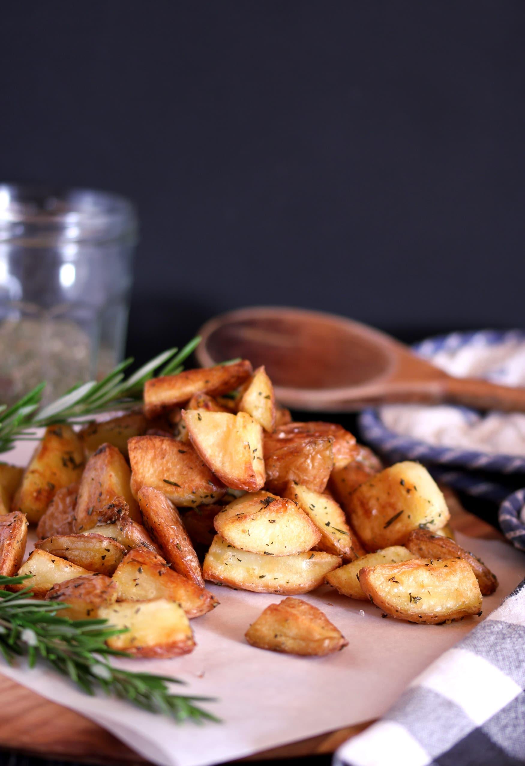 Christmas roast potatoes