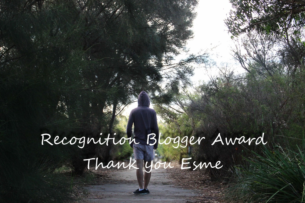 Recognition blogger award
