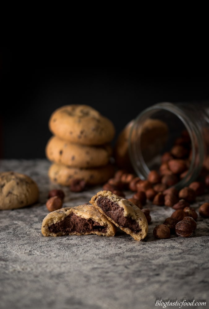 Chocolate and Hazelnut Cookies