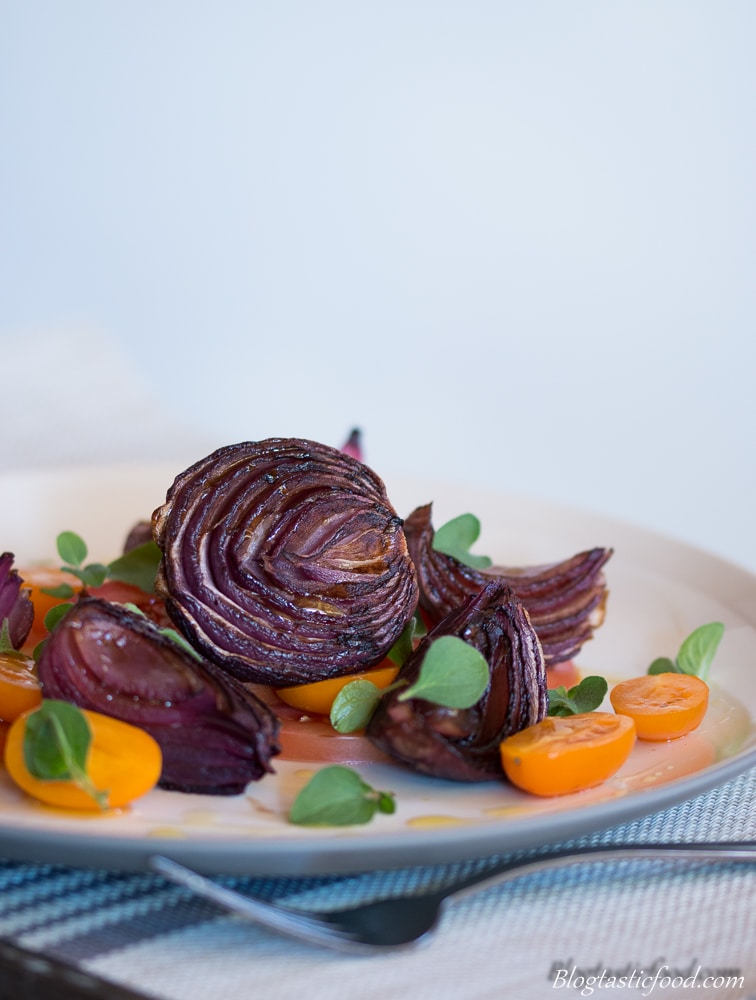 Food Photography Portfolio - Balsamic Roasted Onions