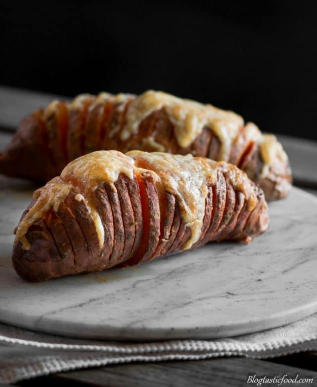 Yummy Hasselback sweet potatoes