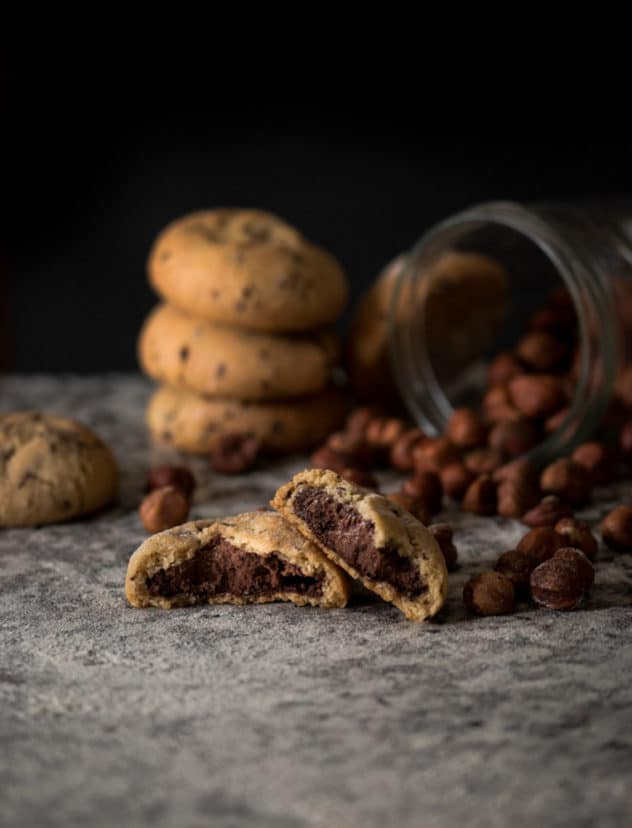 Ways to improve your food photography hazelnut cookies