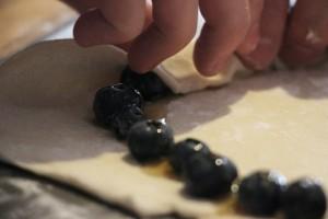 Dessert Pizza with Blueberry Crust 22