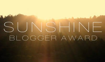 Sunshine Blogger Award Number 2