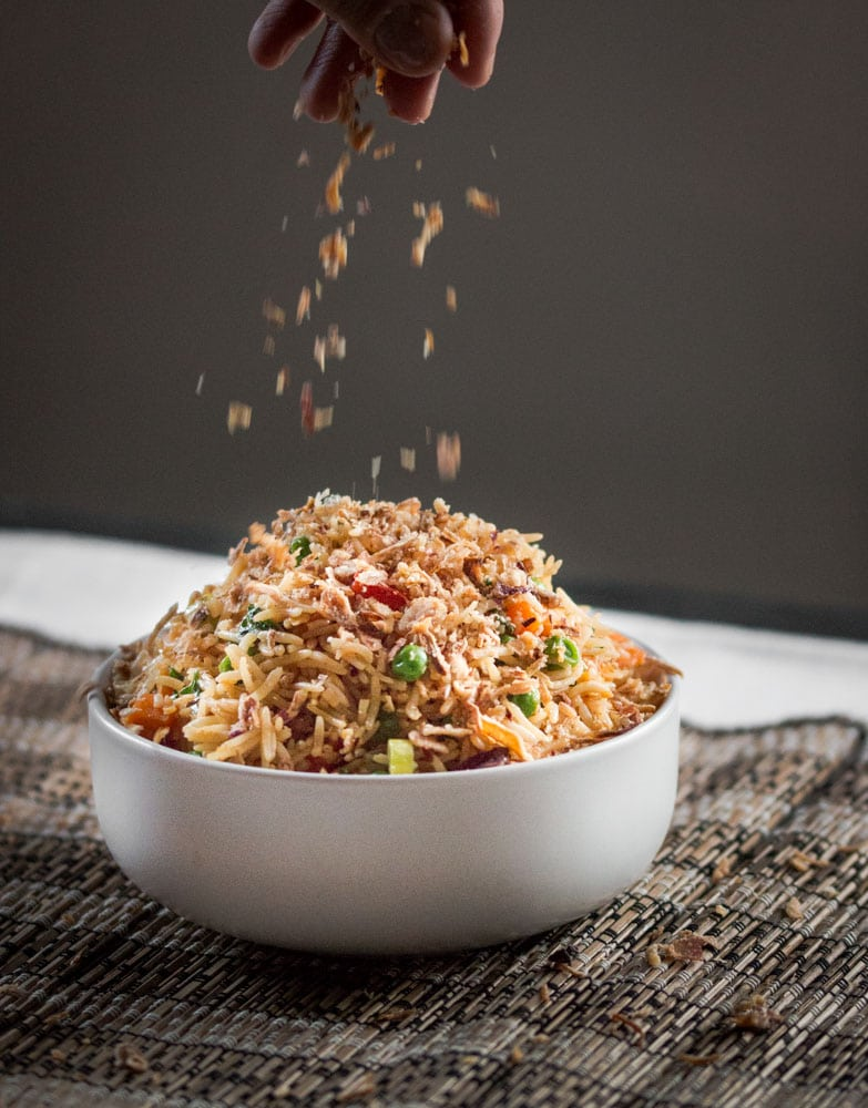 Spicy Vegetable Fried Rice Blogtastic Food