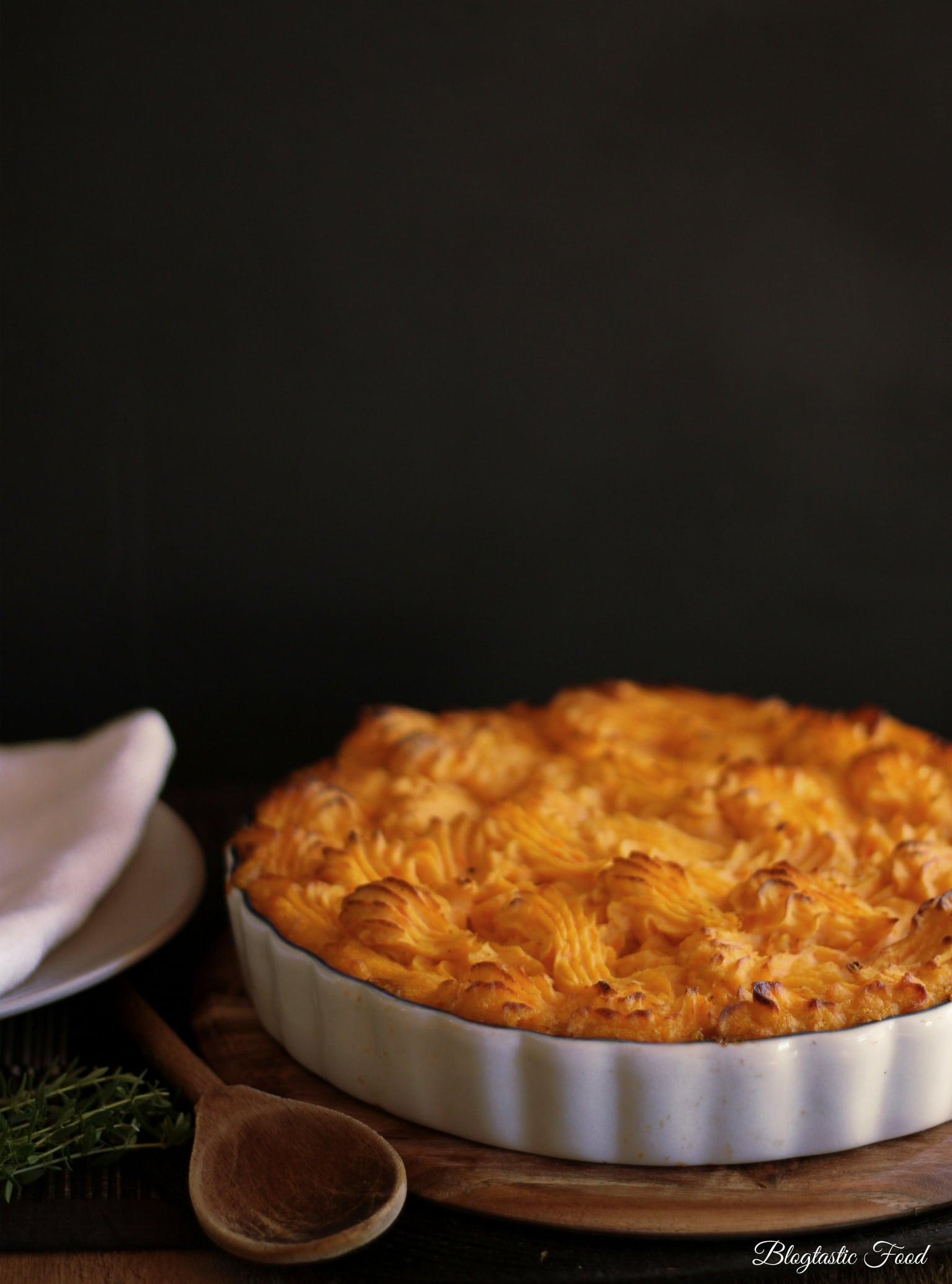 Shepherd's Pie with Potato and Sweet Potato Mash ...