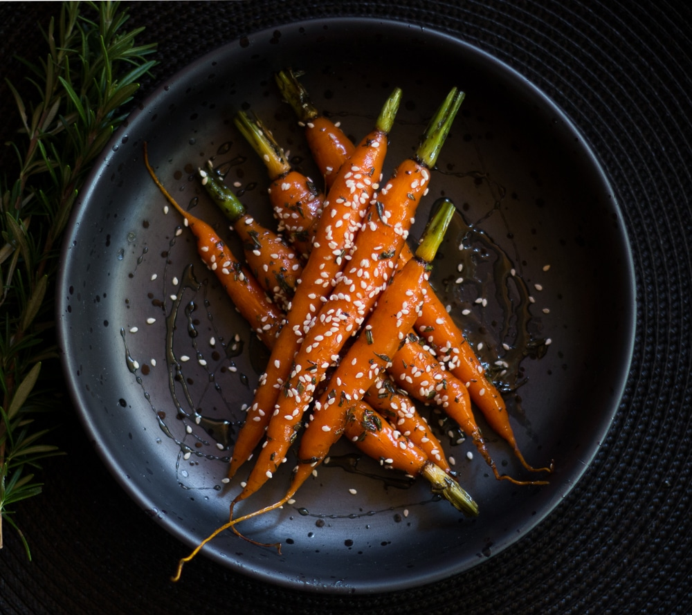 Butter and Honey Glazed Baby Carrots