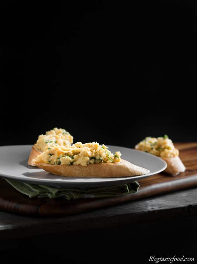 Impress mom with these creamy and cheesy scrambled eggs