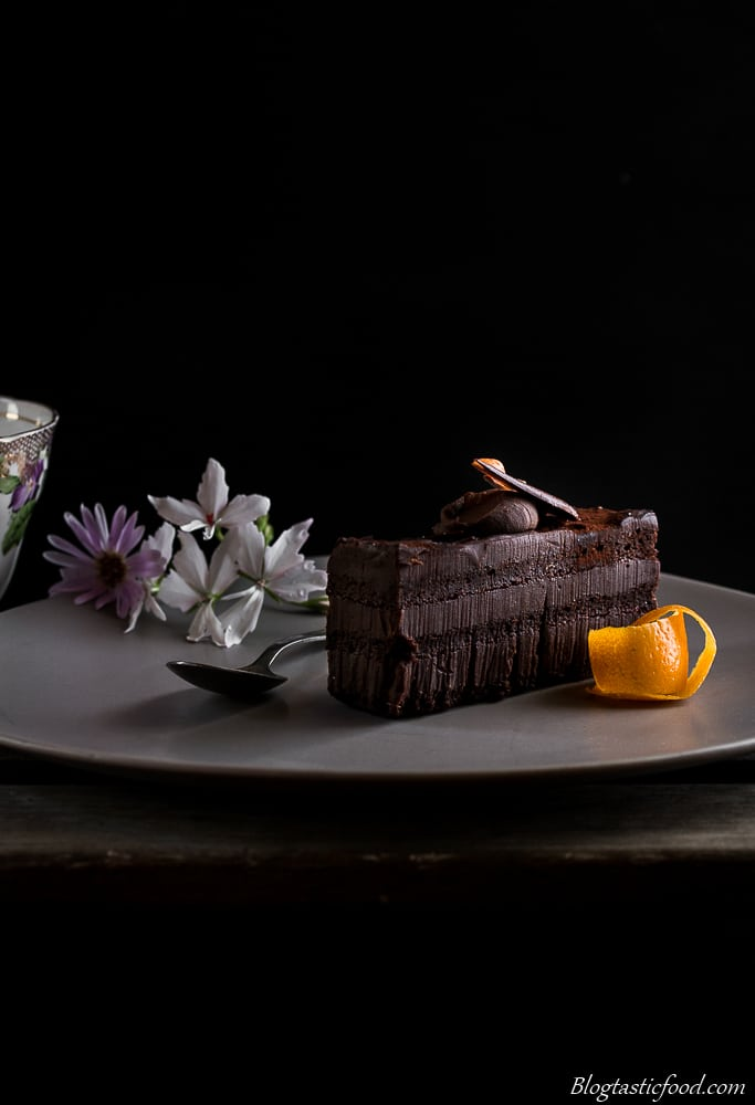 Orange Chocolate Gateau