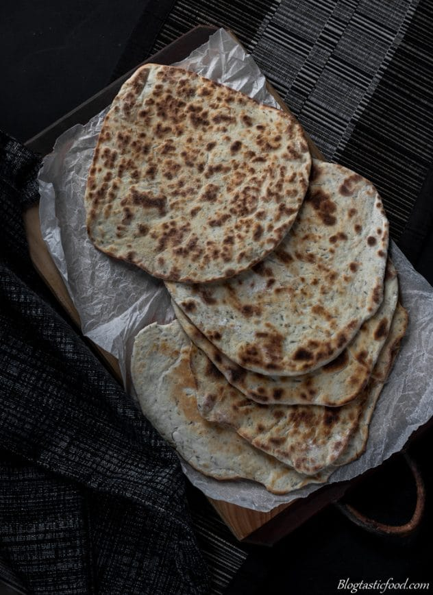 Quick and simple homemade flatbreads. Great for pizzas, wraps, kebabs, quesadillas, sandwiches etc. Give them a go!