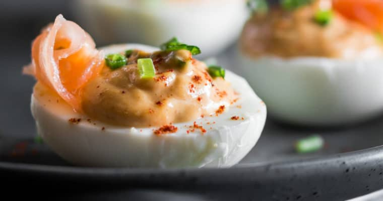 Smoky Deviled Eggs Recipe