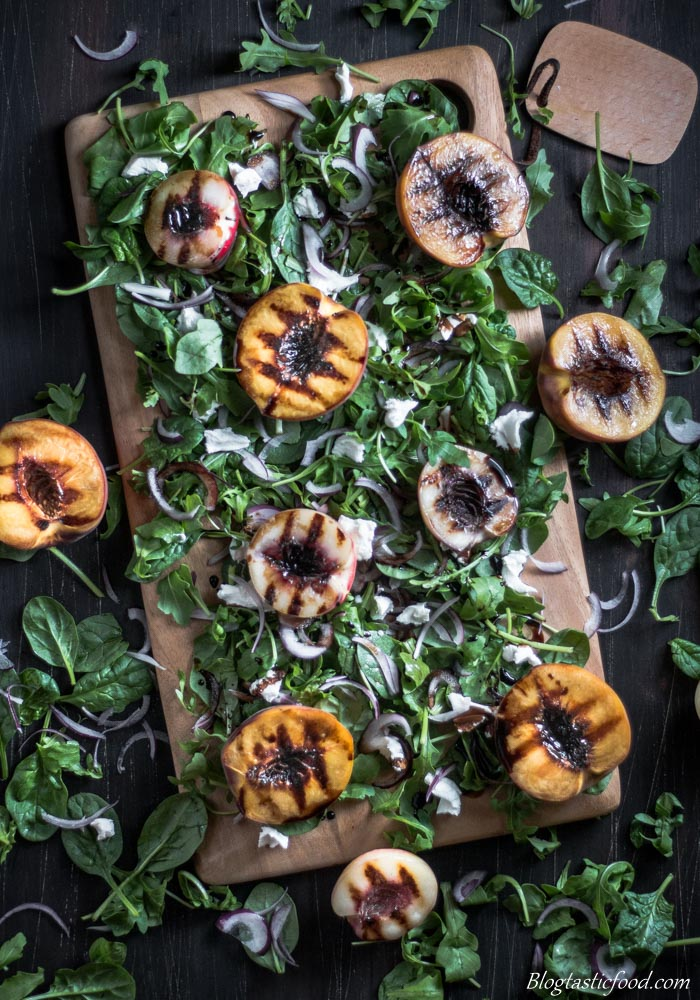 Grilled Peach & Nectarine Salad