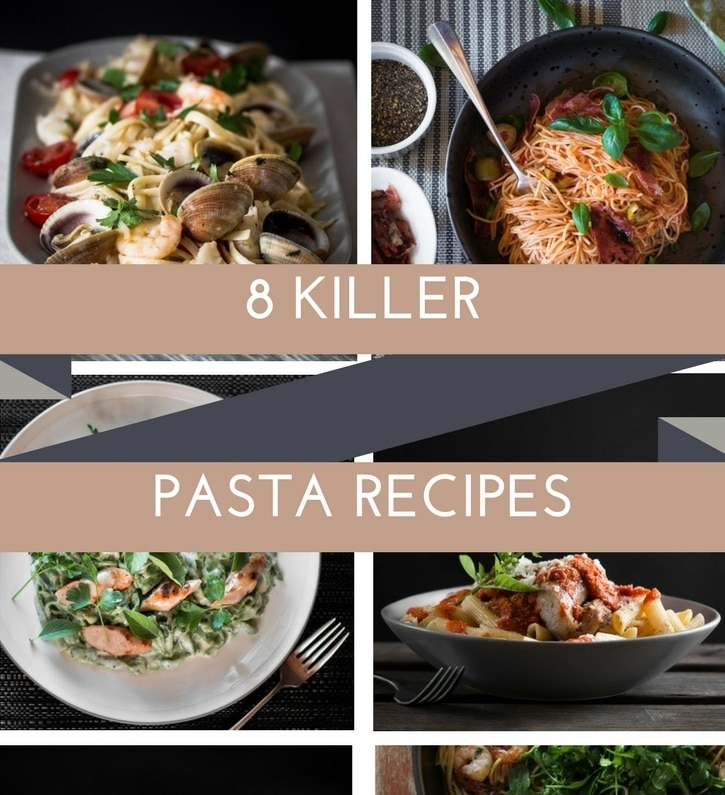 Here are a group of fantastic pasta recipes that I guarantee you will love!! We are talking fresh pasta, cheesy pasta, seafood pasta, shredded beef, hidden veg.....The list goes on.