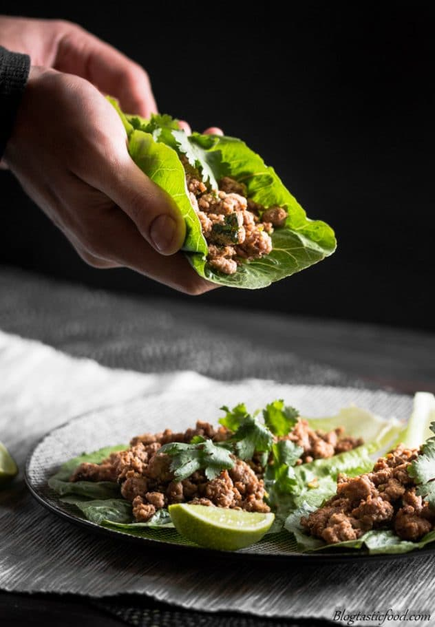 So, you think lettuce is boring? Well think again. These super tasty beef lettuce wraps make lettuce exciting. Give it a go!