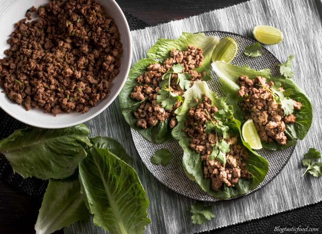 So, you think lettuce is boring? Think again! These super tasty beef lettuce wraps make lettuce exciting. Give it a go!
