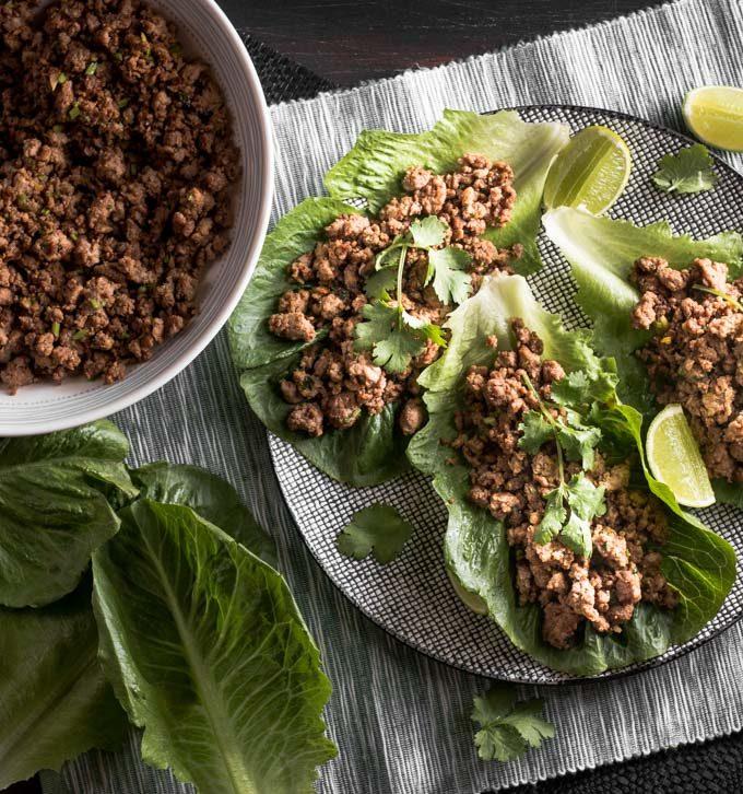 Spicy Beef Lettuce Wraps Recipe