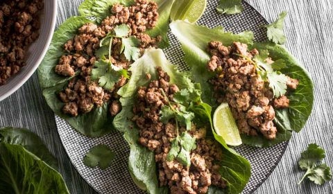 So, you think lettuce is boring? Think again. These super tasty beef lettuce wraps make lettuce exciting. Give it a go!