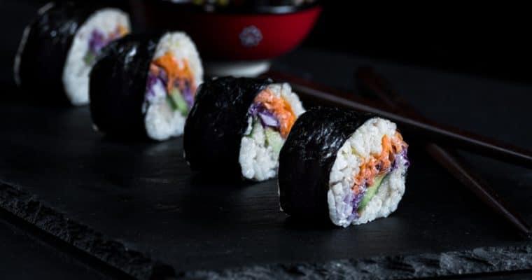 Veggie Sushi Rolls Recipe
