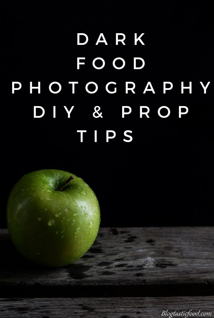 The front cover of a dark food photography guide.
