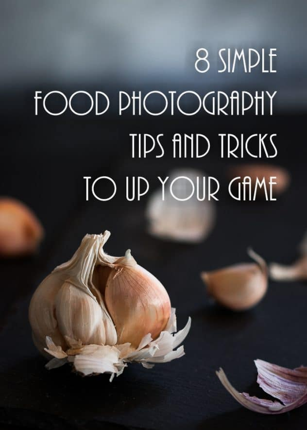 A food photography guide shown in the form of a pin.