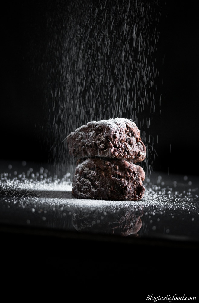 Dusted Brownies