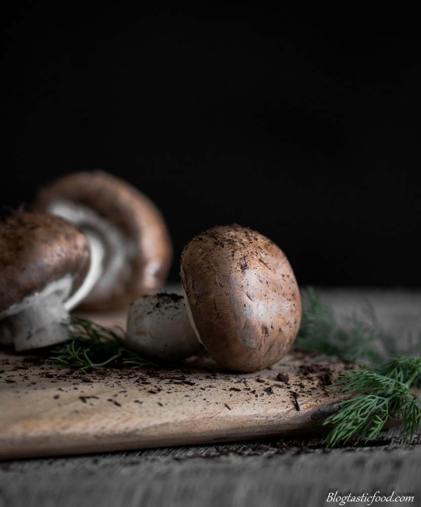 Earthy Mushrooms