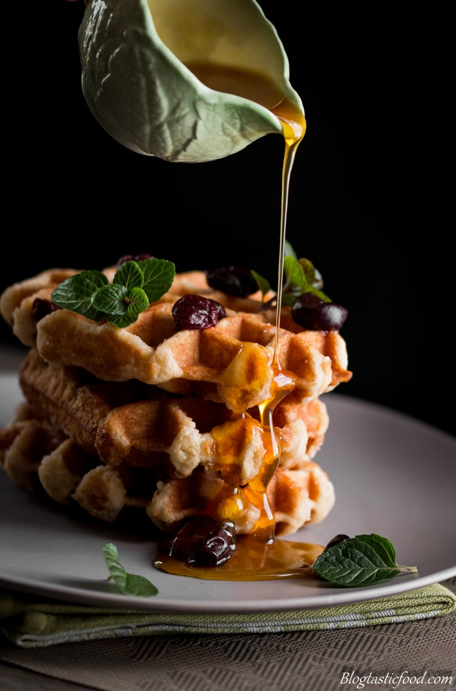 Maple Syrup & Waffles