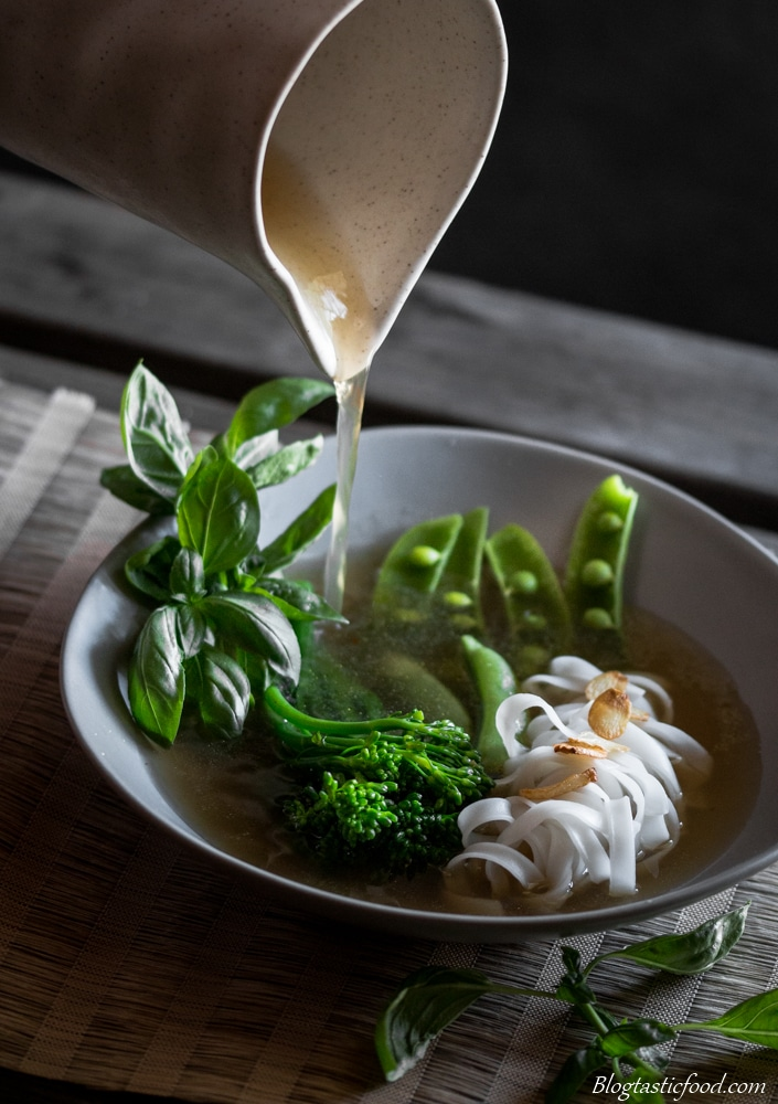 Rice Noodle Broth